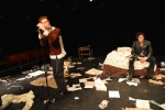 VICIOUS CIRCLES - Shane Adamczak as Johnny Rottenand Patrick Rogers as Sid Vicious (Photo by Louis Longpré) SM