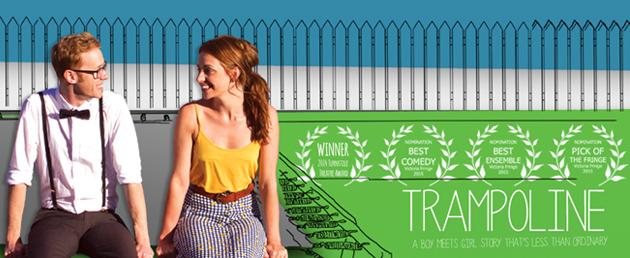 trampoline little birdy banner