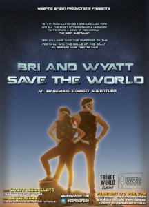 bri and wyatt save the world poster webready