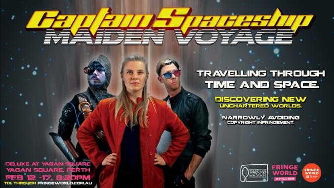 captain spaceship - northbridge digital screen slide